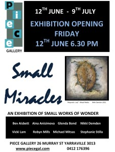 SMALL MIRACLES flyer